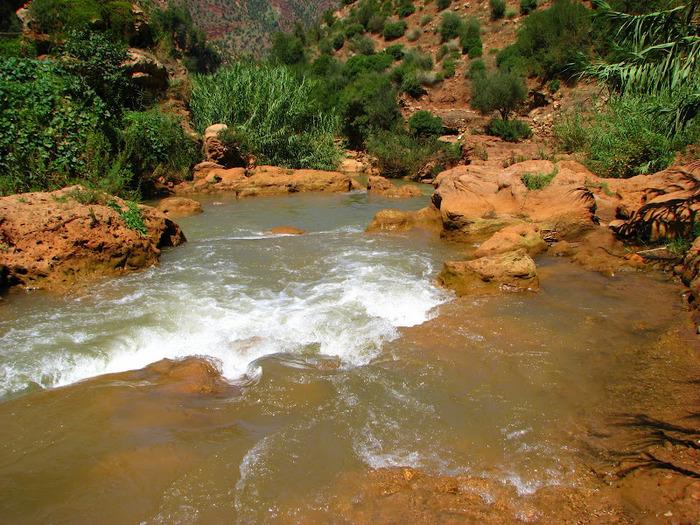 Водопад Узуд– Покрывало влюбленных в Марокко. 85670