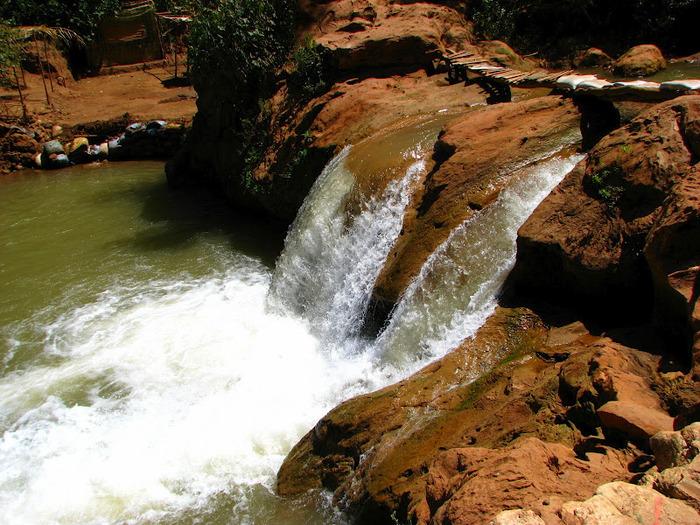 Водопад Узуд– Покрывало влюбленных в Марокко. 97553