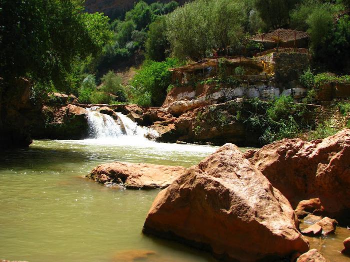 Водопад Узуд– Покрывало влюбленных в Марокко. 64566