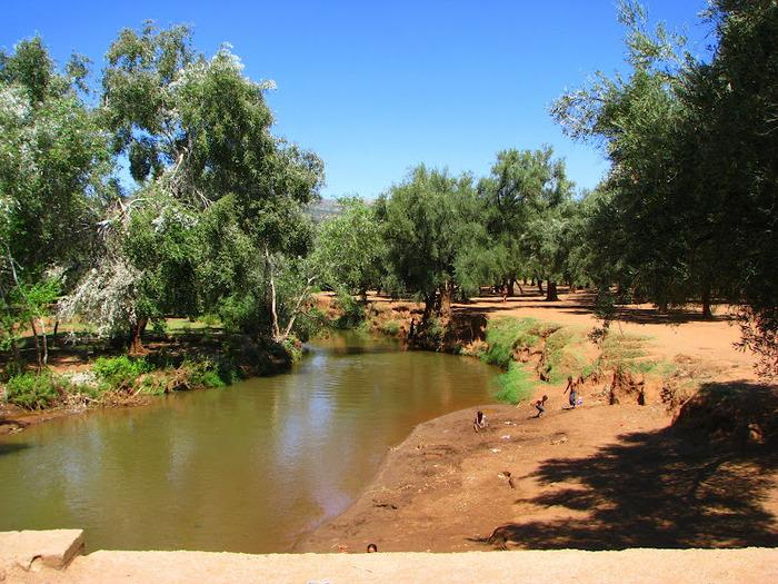 Водопад Узуд– Покрывало влюбленных в Марокко. 45301