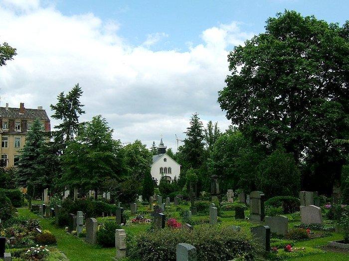 Старое католическое кладбище в Дрездене 45212