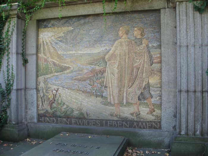 Старое католическое кладбище в Дрездене 22364