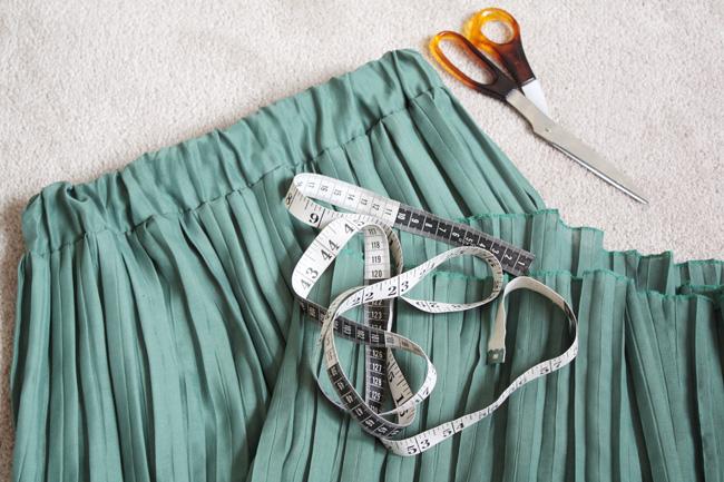 Сшить плиссированную юбку своими руками