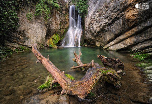 Водопад в окрестностях городка Сабандо, регион Страна Басков, Испания (604x413, 87Kb)