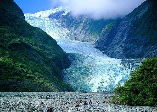 Ледник Франца-Иосифа, Национальный парк Вестленд, Новая Зеландия (600x430, 66Kb)