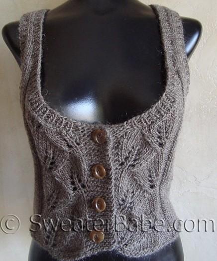 Женский жилет,связанный одним полотном,шов по плечам,красивая схема узора спицами/4683827_20120508_125250 (436x525, 69Kb)