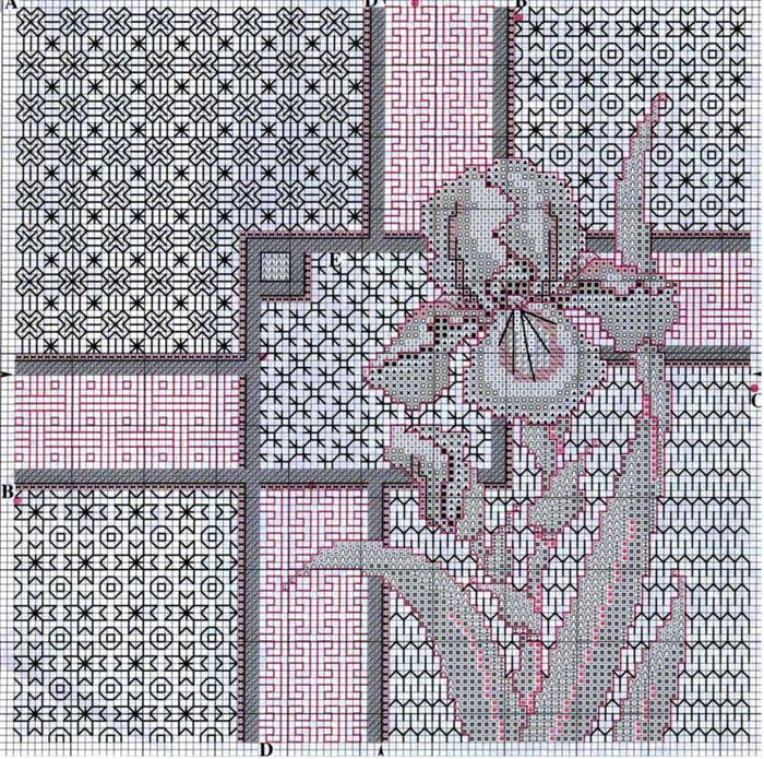 Страница 1. Портал, посвященный вышивке крестом: коллекция схем...  Схемы вышивки крестом от А до Я...