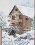 Превью StitchWorld 03-153 Snowy Creek Mill (500x650, 74Kb)