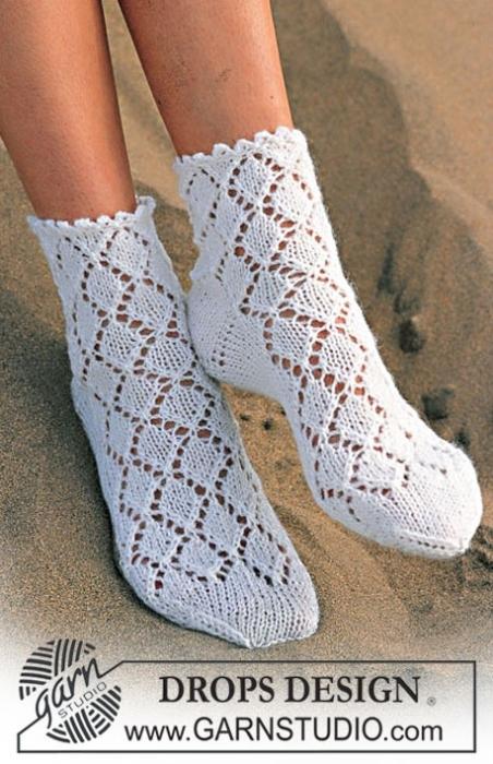 18 янв 2013 .  Схема вязания и описание гольф спицами .  Теги: Спиральные носки носки без пятки вязание спицами носки...