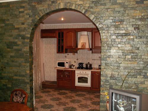 Декоративная отделка арки в квартире своими руками