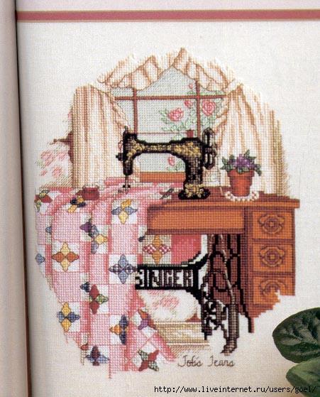 Фото вышивки швейной машинки