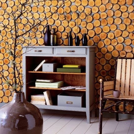 Дизайн квартиры из подручных материалов