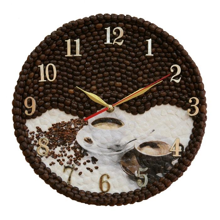 Часы с кофе своими руками