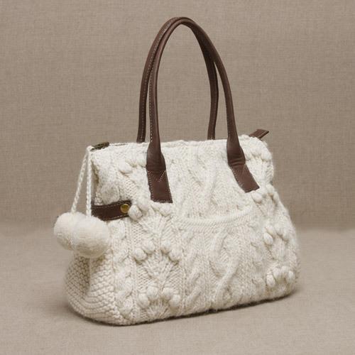 Арановая сумочка с карманом и