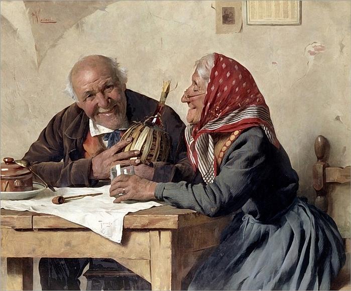 Pompeo Massani (1850-1920) fond-memories_.добрые воспоминания (700x579, 325Kb)