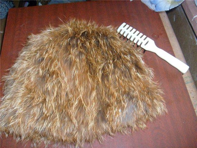 Как сделать шапочку из обрезков меха норки