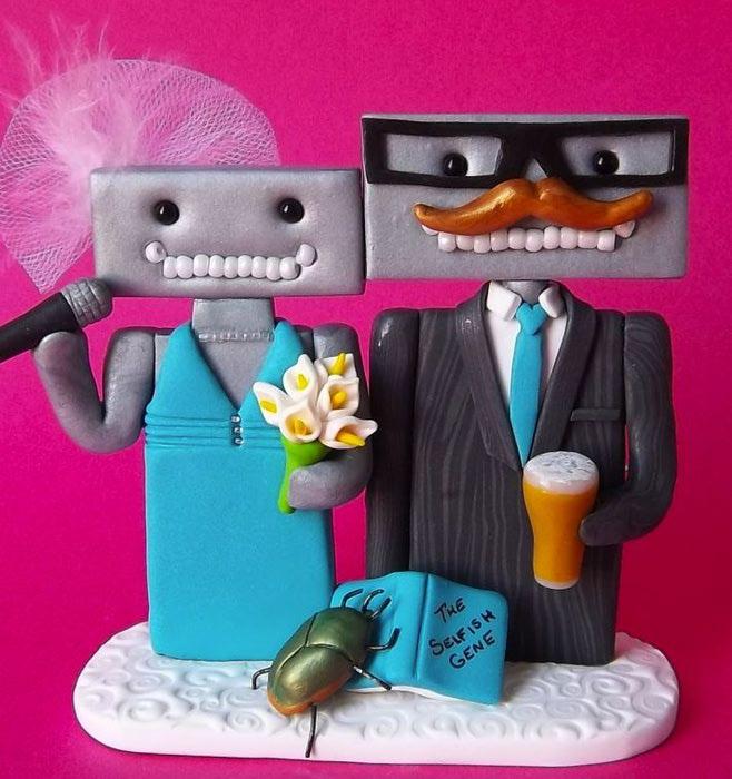 фигурки для свадебного торта фото 6 (658x700, 73Kb)