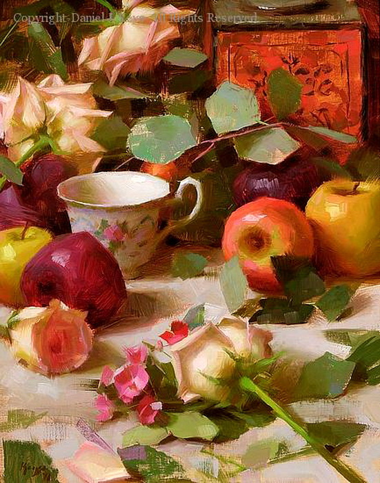 Apples and Roses (551x700, 192Kb)