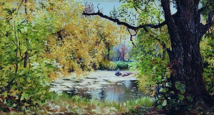 Пейзаж рисуем пейзаж мастер класс