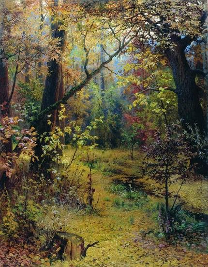 Лес в картинах русских художников
