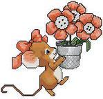 Превью Mouse Flowers (188x180, 9Kb)