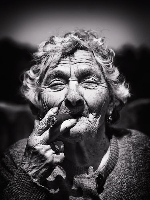 необычные портреты людей фото 12 (525x697, 134Kb)