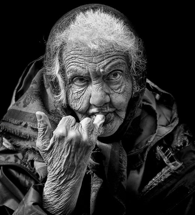 необычные портреты людей фото 16 (631x696, 144Kb)