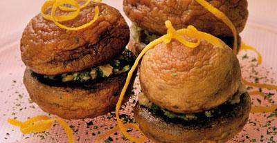 Грибные бутерброды