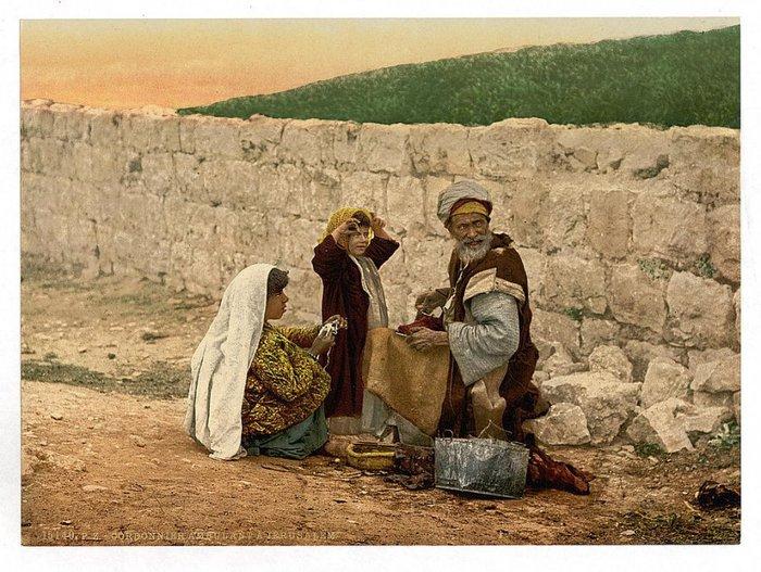 1 Кочующий сапожник в окрестностях Иерусалима (700x527, 110Kb)