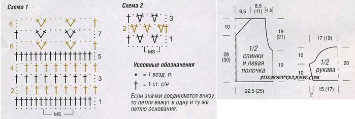 Вязание Крючком Схемы Диана