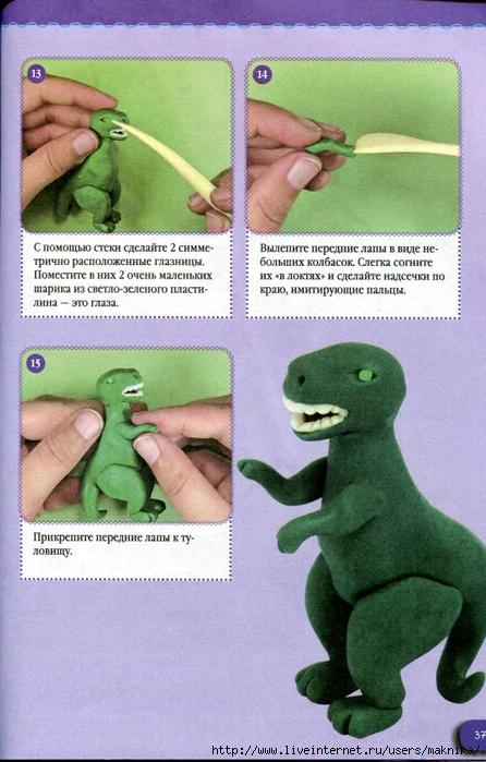 Поделки из пластилина фото инструкции