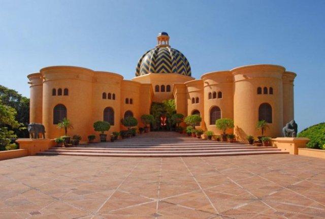 отель в мексике Cuixmala Luxury Resort 1 (640x431, 43Kb)