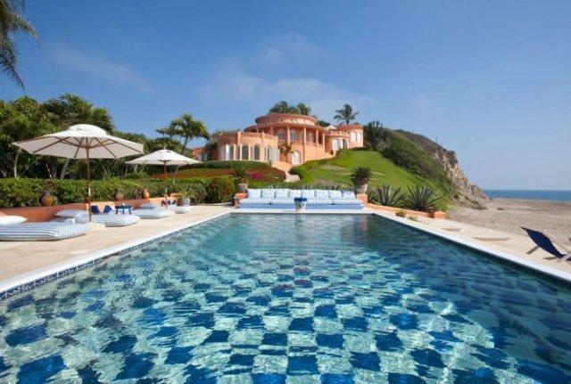 отель в мексике Cuixmala Luxury Resort 3 (640x431, 62Kb)