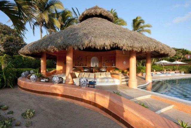 отель в мексике Cuixmala Luxury Resort 5 (640x431, 65Kb)