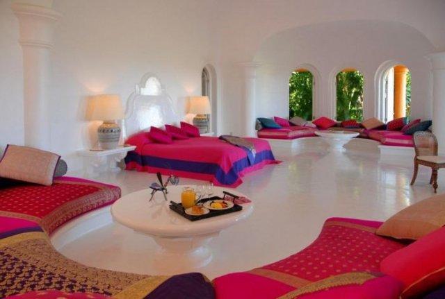 отель в мексике Cuixmala Luxury Resort 13 (640x431, 39Kb)