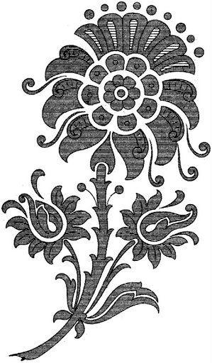 Фантазийные цветы картинки 5
