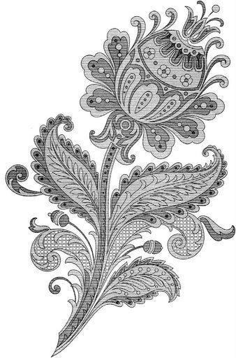 Фантазийные цветы картинки 8