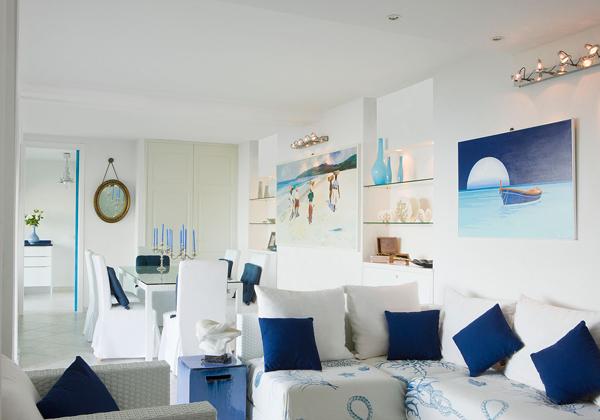 Морской стиль фото для интерьера квартир