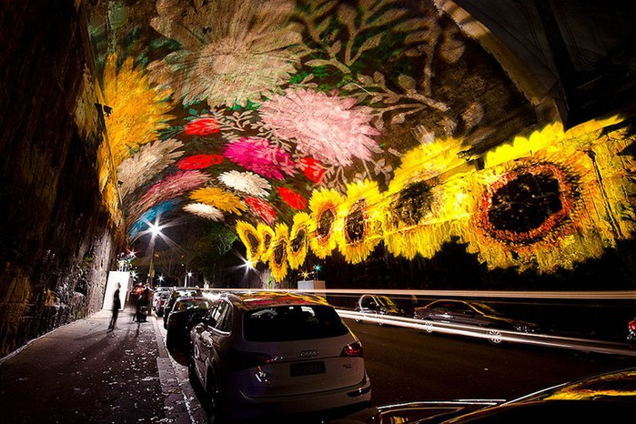 Красочный фестиваль света 2012 в Сиднее 18 (700x466, 134Kb)