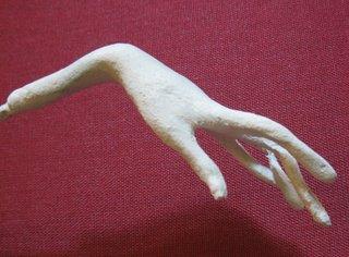 Лепка руки из пластики