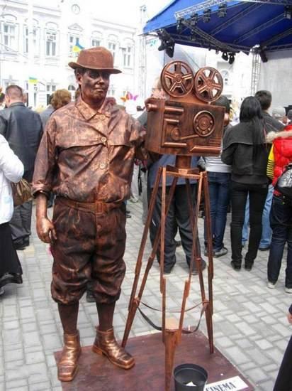 уличные актеры фото 13 (412x550, 44Kb)