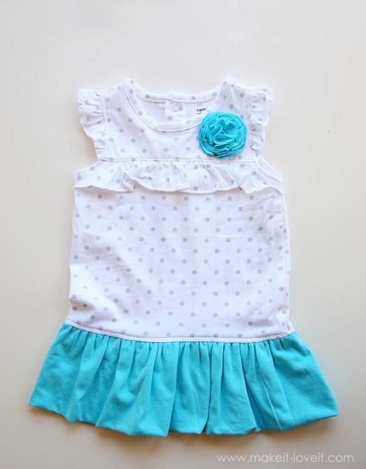 Летнее платье для дочки сшить фото 82