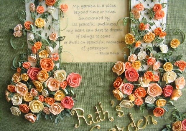 Цветы в скрапбукинге своими руками