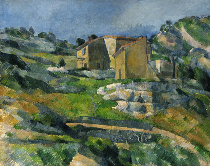 Houses in Provence. The Riaux Valley near L'Estaque (700x553, 168Kb)
