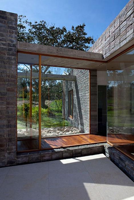 Двухэтажный дом от студии Diez + Muller 6 (470x700, 364Kb)
