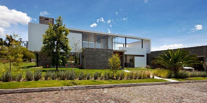 Двухэтажный дом от студии Diez + Muller 13 (700x349, 80Kb)