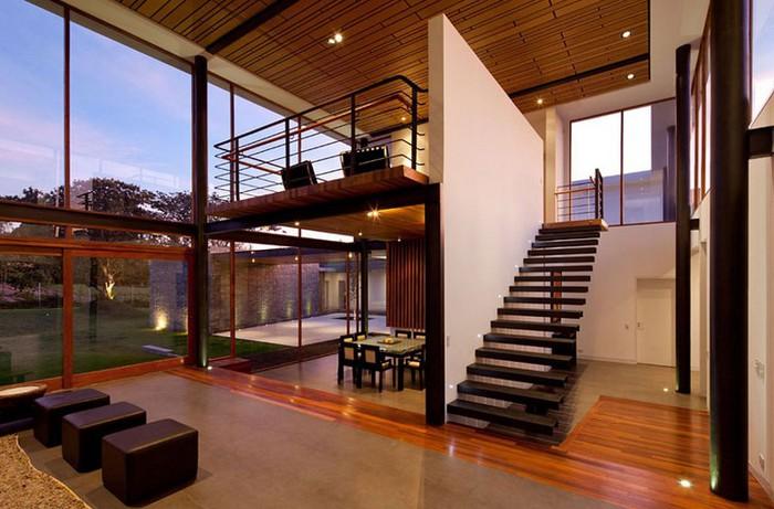 Двухэтажный дом от студии Diez + Muller 18 (700x461, 90Kb)