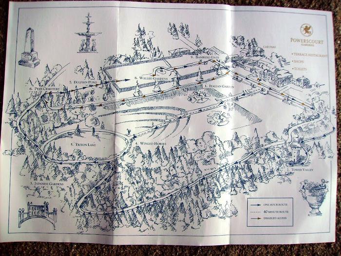 Powerscourt Gardens -Сад Пауэрскоурт . 91863