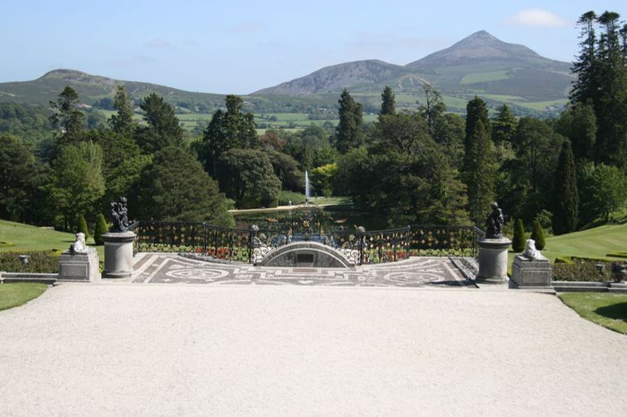 Powerscourt Gardens -Сад Пауэрскоурт . 90096