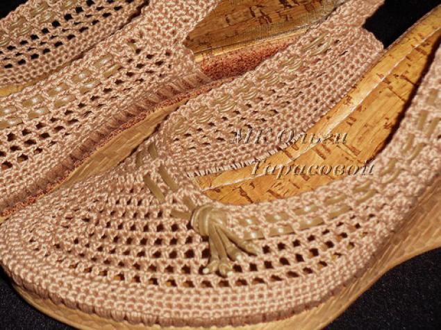 """Блог провизора """" Мастер-класс """"Реставрация обуви, вязаные босоножки"""